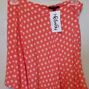 HIPSWAY geometric skirt (00000-00005)